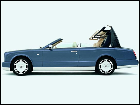 Bentley will build Drophead flagship model