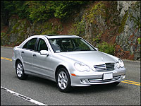 Car reviews from industry experts auto123 for 2005 mercedes benz c230 kompressor price
