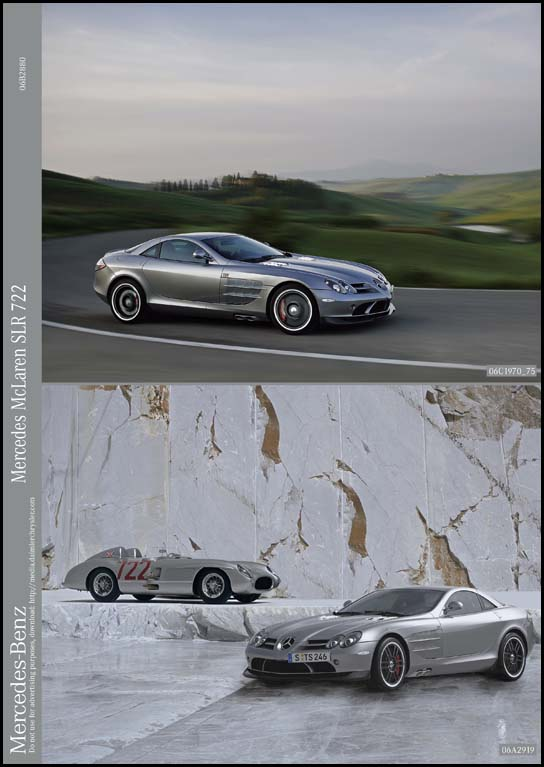 Mercedes Benz Slr Mclaren 722 Edition. New Mercedes-Benz SLR #39;#39;722