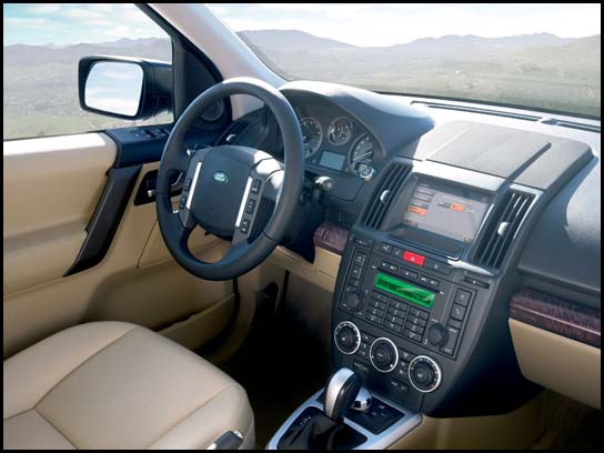 2007 Land Rover LR2 (Photo: Ford Motor Company)