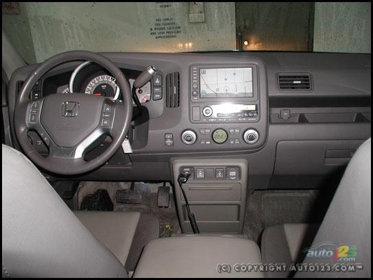 2006 Honda Ridgeline Interior. 2006 Honda Ridgeline EX-L NAVI