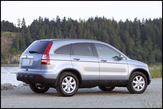 2007 Honda CR-V Preview