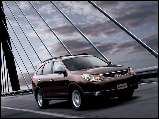 Hyundai Veracruz 2012. 2007 Hyundai Veracruz Preview