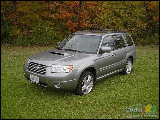 2007 Subaru Forester 2.5XT
