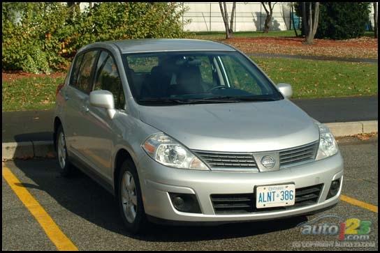 nissan versa 2007. 2007 Nissan Versa Sl Hatchback