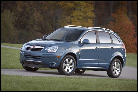 2008 Saturn VUE at the Chicago Auto Show