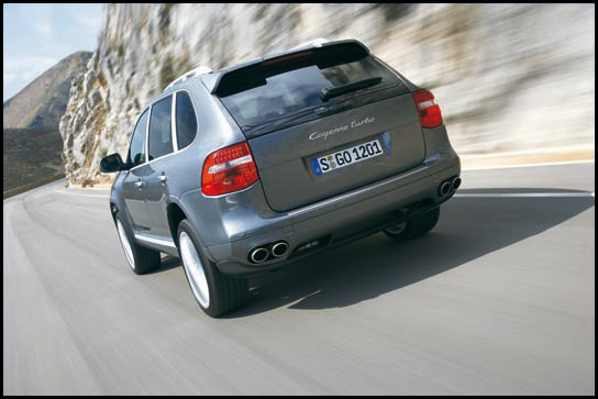 2008 Porsche Cayenne at the 2007