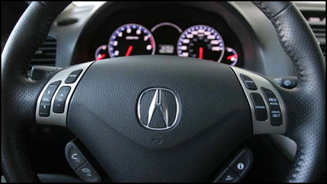 Acura  Review on 2007 Acura Tsx Navi Road Test Editor S Review   Page 1   Auto123 Com