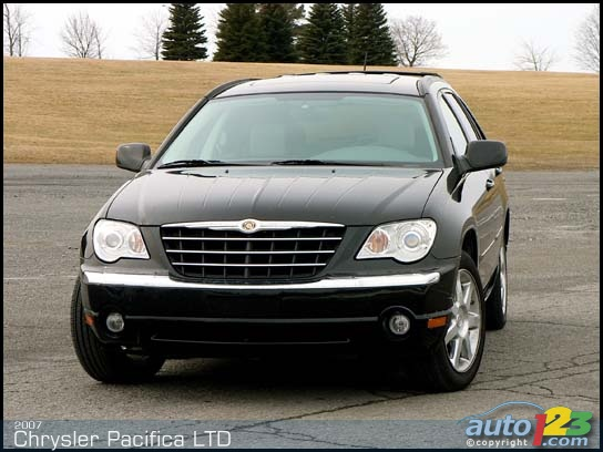 2007 chrysler pacifica limited. Cars Review. Best American Auto & Cars Review