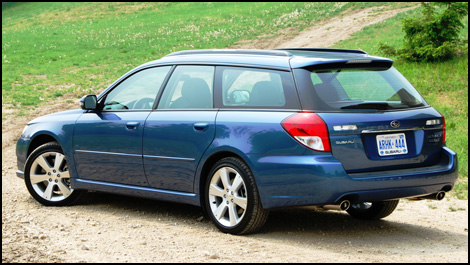 Subaru Legacy Wagon. 2008 Subaru Legacy First