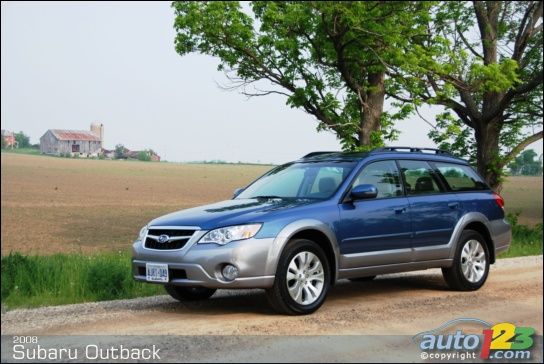2008 Subaru Outback First Impressions