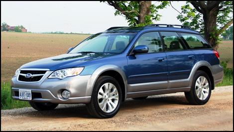 Review 2008 Subaru Outback First Impressions Subaru