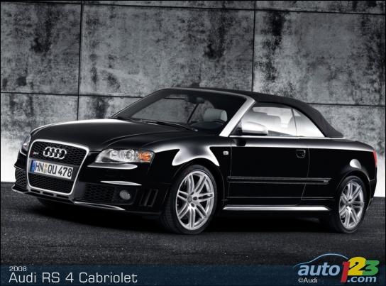 2006 Audi Rs 4 Cabriolet. 2008 Audi RS 4 Cabriolet