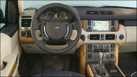 new features for the 2008 range rover car news auto123. Black Bedroom Furniture Sets. Home Design Ideas