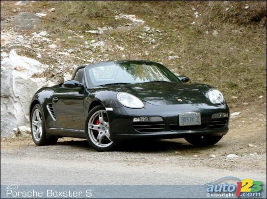 2002 Porsche Boxster S. 2007 Porsche Boxster S