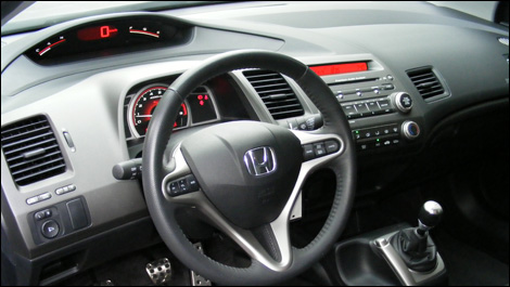 2007 honda civic si road test okotoks honda. Black Bedroom Furniture Sets. Home Design Ideas