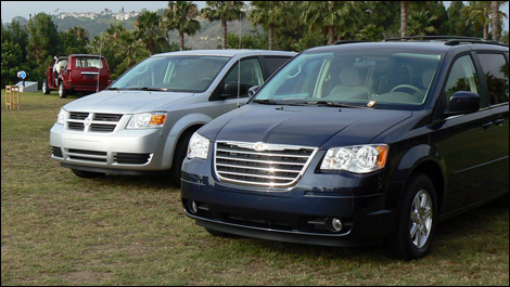 2008 Dodge Grand Caravan and Chrysler Town & Country First Impressions