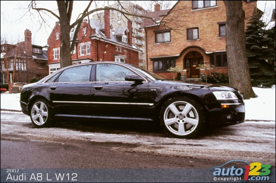 audi a8 w12 wallpaper. 2007 Audi A8 L W12 Road Test