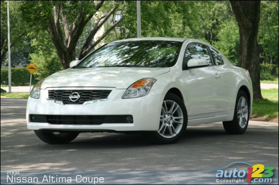 2008 Nissan Altima Coupe 3.5