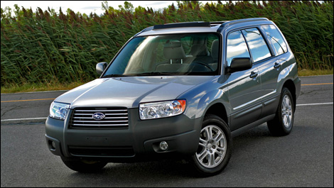 2007 Subaru Forester 2.5XS Road Test Editor's Review | Page 1