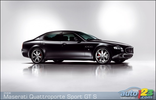 Maserati Quattroporte Sport GT S to make debut at Frankfurt