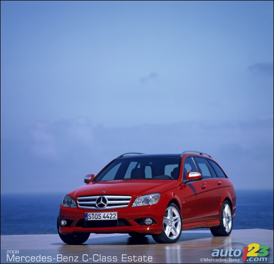 Mercedes C-Class Estate revealed