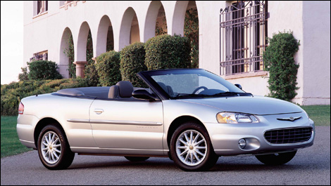 2001-2006 Chrysler Sebring