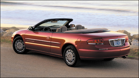 Chrysler Sebring Convertible 2006. 2001-2006 Chrysler Sebring