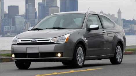 ford focus 2008. The 2008 Focus is completely
