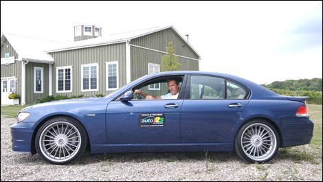 Auto123 Com In Canada Reviews The Bmw Alpina B7 Bmw M5