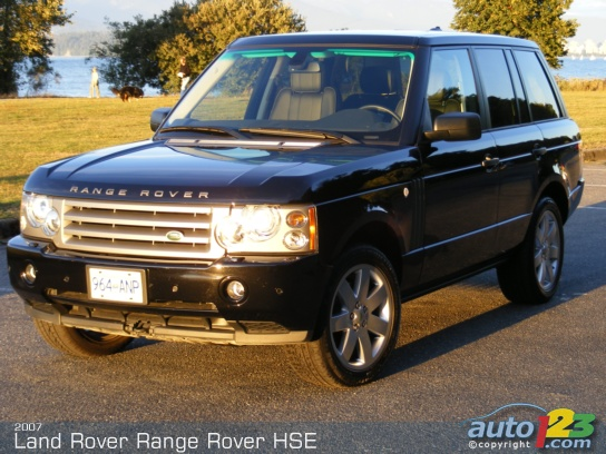 2000 Land Rover Range Rover Hse World Activity