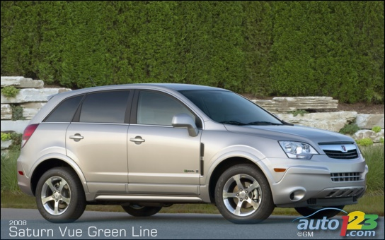 Saturn's new Vue Green Line Hybrid, a value and fuel economy leader