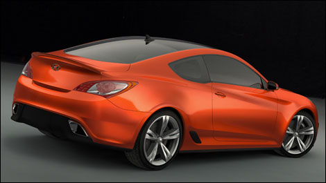 2007 Hyundai Genesis Concept. Hyundai Genesis Concept