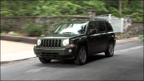 Jeep Patriot  Pics too fast