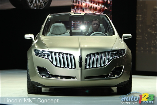 Detroit 2008: Lincoln introduces MKT crossover and MKS sedan (video)
