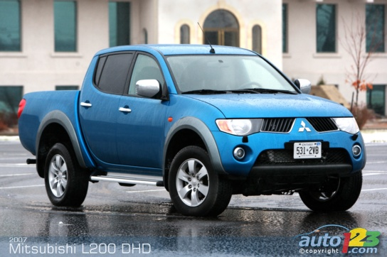 2007 Mitsubishi L200 Instyle DI-D Double Cab Road Test