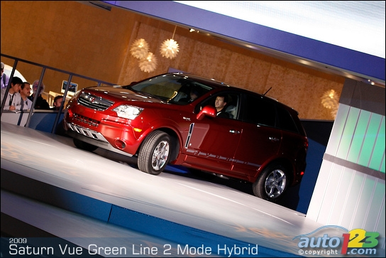 Detroit 2008: Saturn unveils the 2009 Vue Green Line Two-Mode Hybrid (video)