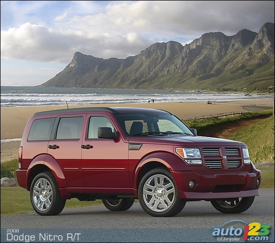 2008 Dodge Nitro R/T Road Test: Photo Gallery | Auto123.com