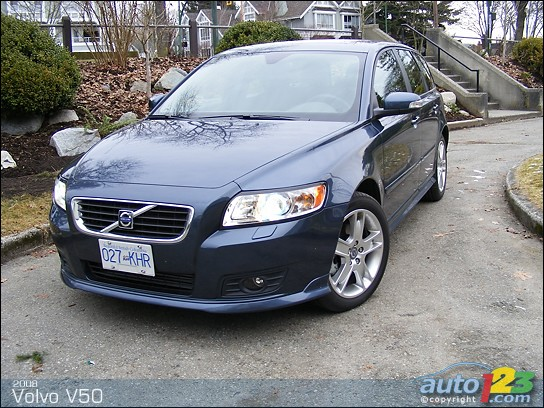2008 Volvo V50 - Car Pictures, Photos, Spy Shoot, Wallpapers, Images ...