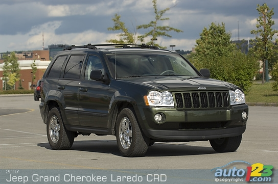 2007 Jeep Grand Cherokee Laredo CRD Review