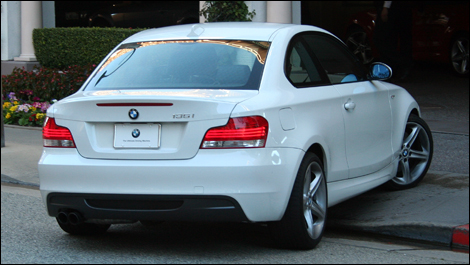 BMW 135 back view