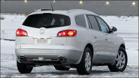 2008 Buick Enclave Cxl. Road Test: Buick Enclave CXL