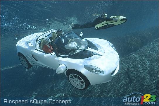 Fin de la coopération GARMIN/ASUS Rinspeed-sQuba-Concept-001