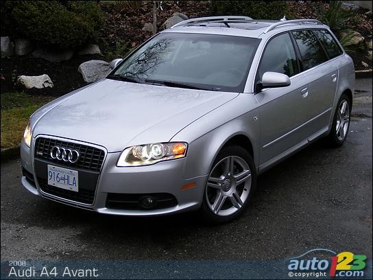 2002 audi a4 avant. 2008 Audi A4 Avant