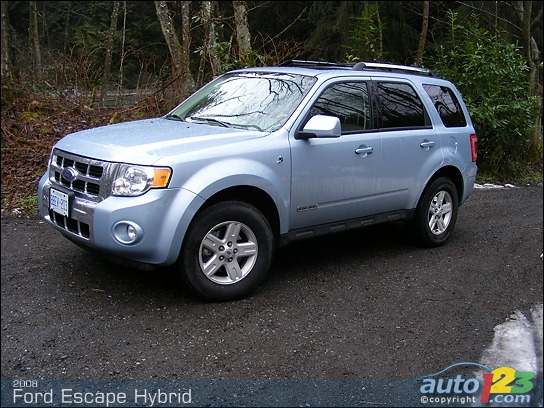 2008 ford escape hybrid specifications. Black Bedroom Furniture Sets. Home Design Ideas