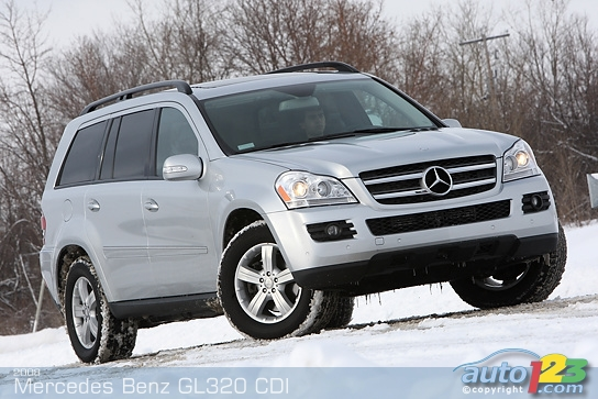 Auto123 new cars used cars auto shows car reviews for Mercedes benz gl320 cdi