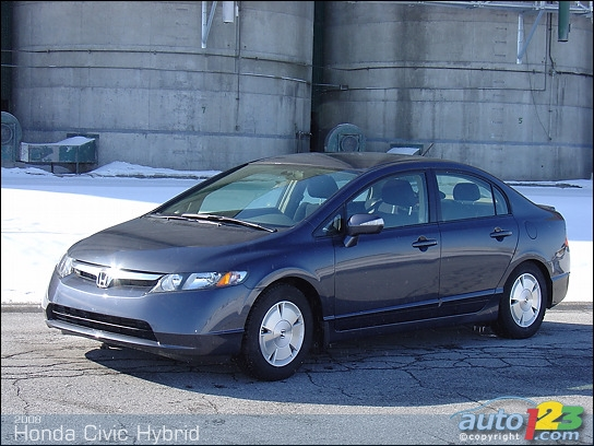 Honda Civic Pictures 2008 2008 Honda Civic Hybrid