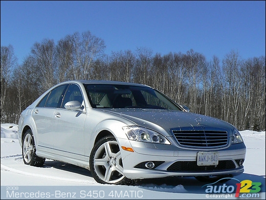 List of car and truck pictures and videos auto123 for Mercedes benz s450