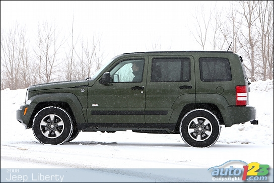 2008 jeep liberty north edition review boulevard dodge chrysler jeep. Black Bedroom Furniture Sets. Home Design Ideas