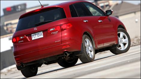 2009 Acura  on Auto123 Comthe Acura Rdx Is A Vehicle For